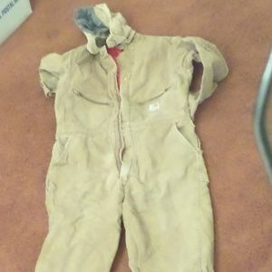 Carhartt Lined Hooded Coveralls 44R